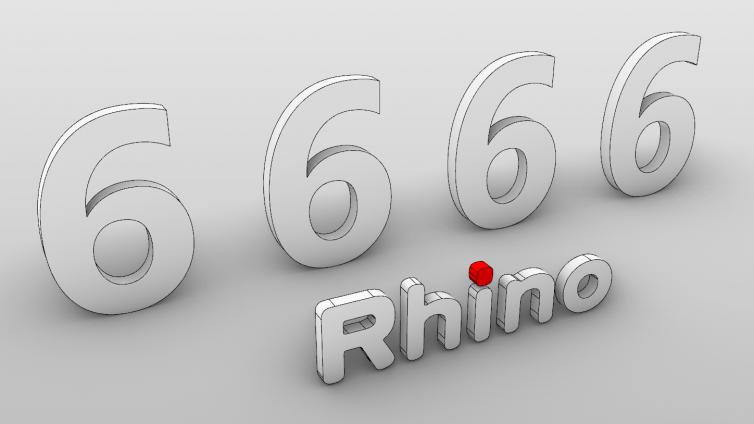 Rhino6.0八大建筑方向强化---我的Rhino6.0新功能汇总