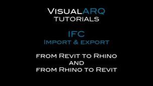 Rhino和Revit通过IFC格式互相导入教程